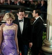 Emma Corrin spelar prinsessan Diana och Josh O'Connor prins Charles Netflix