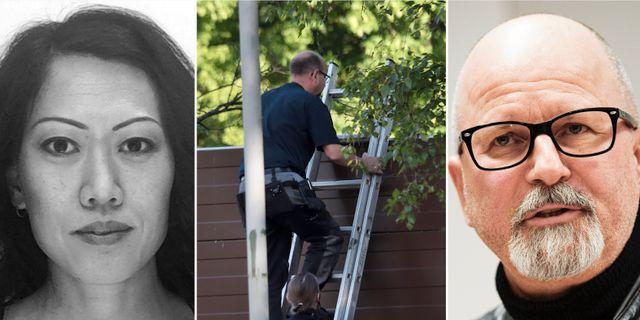 Mördade Lena Wesström/polisen på plats i Örebro/polisen Peter Springare. TT