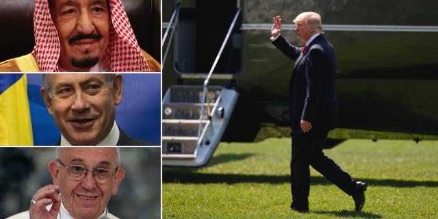 Trumps första utrikesresa: Israel, Vatikanen och Saudi - Omni