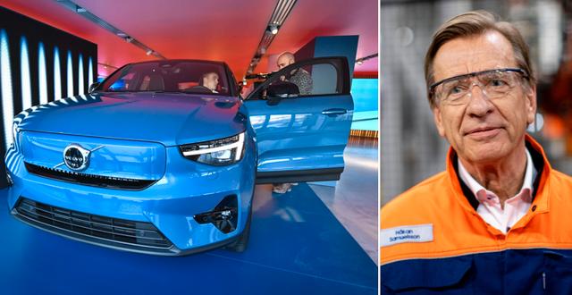 Volvo Cars vd Håkan Samuelsson.