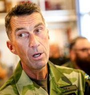 Micael Bydén, överbefälhavare för Försvarsmakten.  Mats Andersson/TT / TT NYHETSBYRÅN