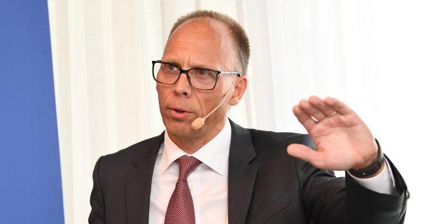 Nordeas vd Frank Vang-Jensen. Jonas Ekströmer/TT / TT NYHETSBYRÅN