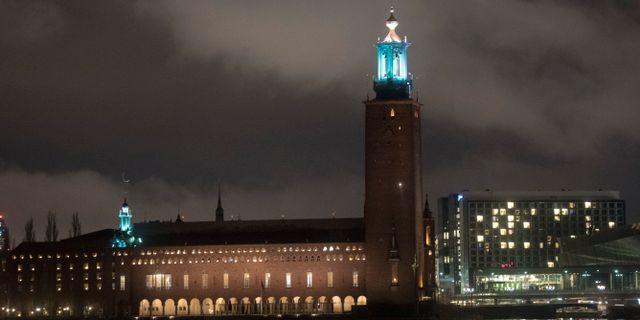 Stockholms stadshus Fredrik Sandberg/TT / TT NYHETSBYRÅN