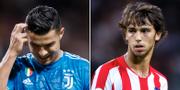 Cristiano Ronaldo/Joao Felix. BILDBYRÅN