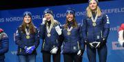 Ebba Andersson, Frida Karlsson, Charlotte Kalla och Stina Nilsson Fredrik Sandberg/TT / TT NYHETSBYRÅN