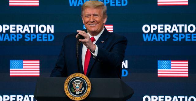 Arkivbild: Donald Trump Evan Vucci / TT NYHETSBYRÅN