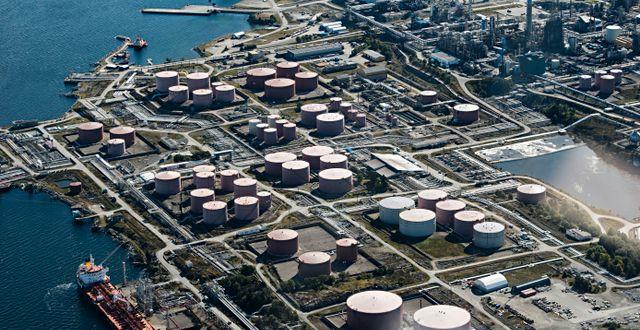 Oljeraffineri i Nordhordland. Hommedal, Marit / TT NYHETSBYRÅN