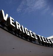 SVT:s byggnad i Stockholm. Claudio Bresciani/TT / TT NYHETSBYRÅN