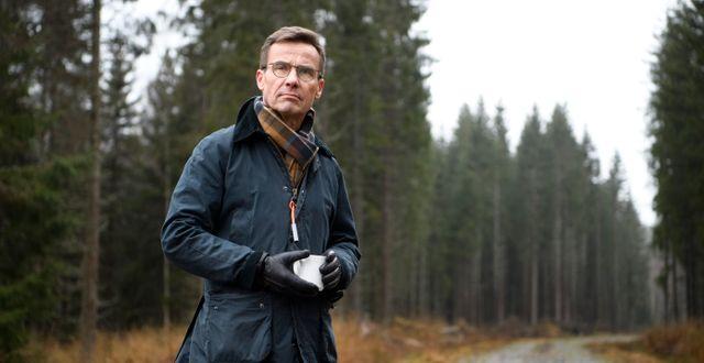 Moderaternas partiledare Ulf Kristersson. Jessica Gow / TT NYHETSBYRÅN