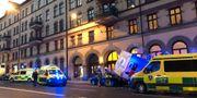 Olyckan inträffade på Hornsgatan på Södermalm. Lisa Abrahamsson/TT / TT NYHETSBYRÅN
