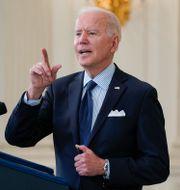 USA:s president Joe Biden.  TT NYHETSBYRÅN