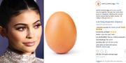 Realitystjärnan Kylie Jenner och Instagram-inlägget.  AFP/Instagram
