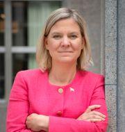 Magdalena Andersson (S) Jessica Gow/TT / TT NYHETSBYRÅN