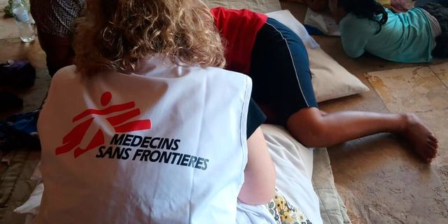 Läkare utan gränser är en av organisationerna som tas upp i artikeln. TT NYHETSBYRÅN