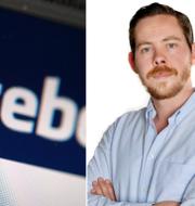 Eric Rosén till höger. TT / Aftonbladet