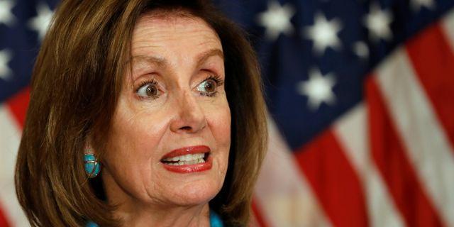 Nancy Pelosi. Arkivbild. YURI GRIPAS / TT NYHETSBYRÅN
