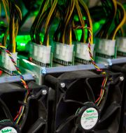 Illustrationsbild: Bitcoin-brytning på Bitfarms i Quebec, Kanada. LARS HAGBERG / TT NYHETSBYRÅN