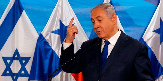 Israels premiärminister Benjamin Netanyahu. GALI TIBBON / POOL