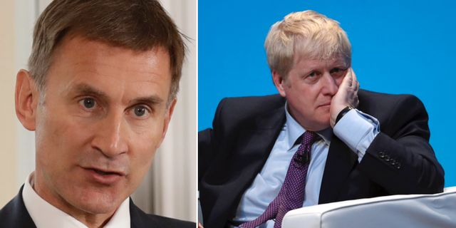 Jeremy Hunt / Boris Johnson.  TT