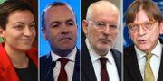Ska Keller/Manfred Weber/Frans Timmermans/Guy Verhofstadt TT