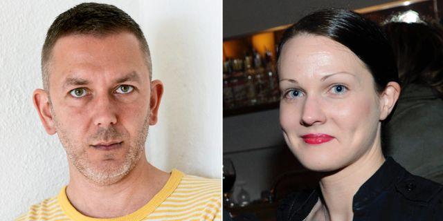 Andres Lokko och Johanna Paulsson.  TT
