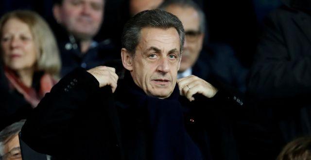 Nicolas Sarkozy.  Gonzalo Fuentes / TT NYHETSBYRÅN
