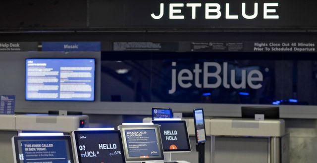 Jetblue. Chris O'Meara / TT NYHETSBYRÅN