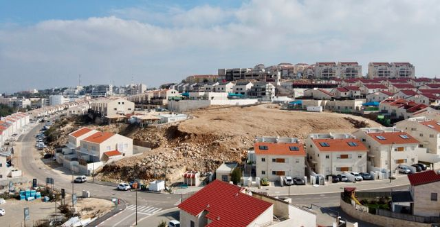Den israeliska bosättningen Ari'el.  Ariel Schalit / TT NYHETSBYRÅN