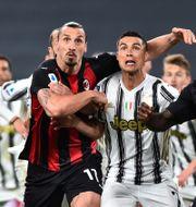 Zlatan Ibrahimovic i matchen mot Juventus. MASSIMO PINCA / BILDBYRÅN