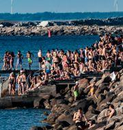 Badplats i Malmö.  Johan Nilsson/TT / TT NYHETSBYRÅN