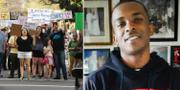 Stora protester har följt efter att Stephon Clark dödades i förra veckan.  TT