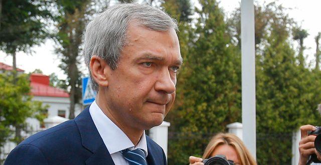 Pavel Latushko. Sergei Grits / TT NYHETSBYRÅN