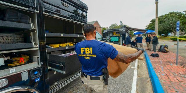 Skjutningen utreds av FBI. HANDOUT / FBI