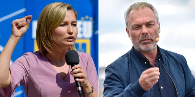 Ebba Busch Thor och Jan Björklund. TT