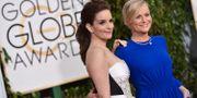 Tina Fey och Amy Poehler vid galan 2015 John Shearer / TT NYHETSBYRÅN