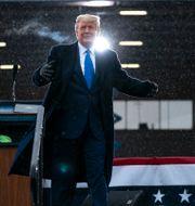 Donald Trump.  Evan Vucci / TT NYHETSBYRÅN