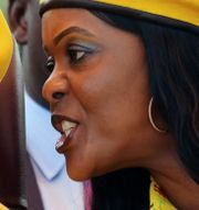 Robert och Grace Mugabe.  PHILIMON BULAWAYO / TT NYHETSBYRÅN