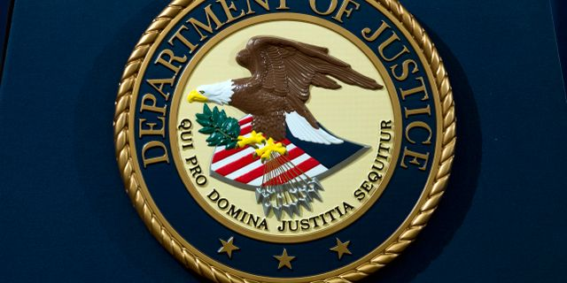 Justitiedepartementets sigill. Illustrationsbild. Jose Luis Magana / TT NYHETSBYRÅN