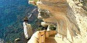 Kungen av Aragoniens trappa går från Bonifacio och 187 steg rakt ner till Medelhavet.  Flickr