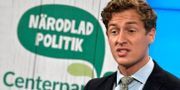 Emil Källström (C). Janerik Henriksson/TT / TT NYHETSBYRÅN
