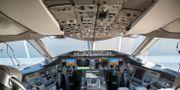 Cockpiten i en Boeing 787-9 Dreamliner från Norwegian. Junge, Heiko / TT NYHETSBYRÅN