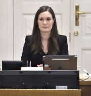 Finlands nya statsminister Sanna Marin. JUSSI NUKARI / Lehtikuva