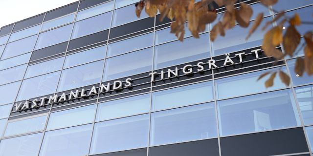 Västmanlands tingsrätt.  Pontus Lundahl/TT / TT NYHETSBYRÅN