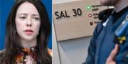 Åsa Lindhagen (MP)/Rättssal.  TT