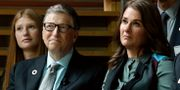 Bill och Melinda Gates. Julio Cortez / TT / NTB Scanpix