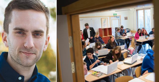 Isak Skogstad, lärare och debattör Privat/TT