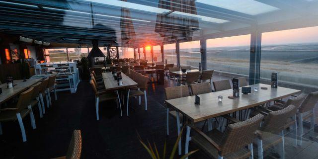 Tom restaurang i Cuxhaven i norra Tyskland. PATRIK STOLLARZ / TT NYHETSBYRÅN