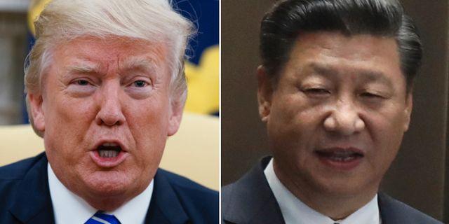 Trump kritiserar kina om nordkorea