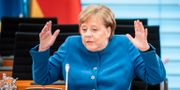 Angela Merkel Michael Kappeler / TT NYHETSBYRÅN