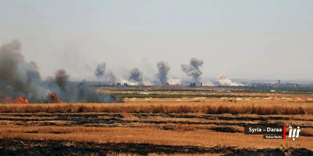 Arkivbild från oroligheterna i Daraa. TT / NTB Scanpix